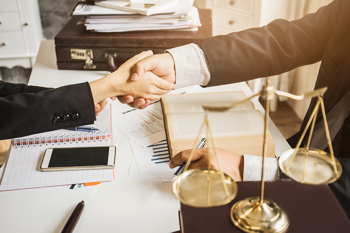 settlement planning handshake